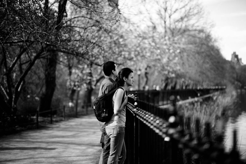 Photodiarist- Couple in Central Park
