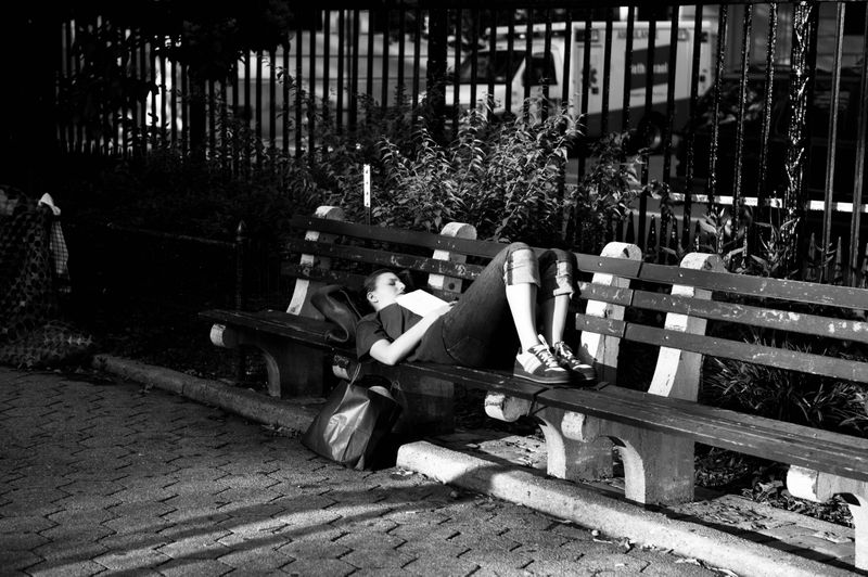 Second Avenue and 18th Street- Late Afternoon Nap