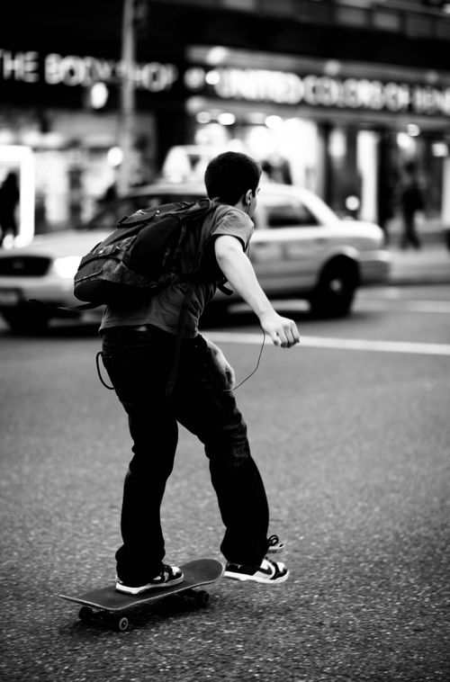 The Photodiarist- Skateboarder