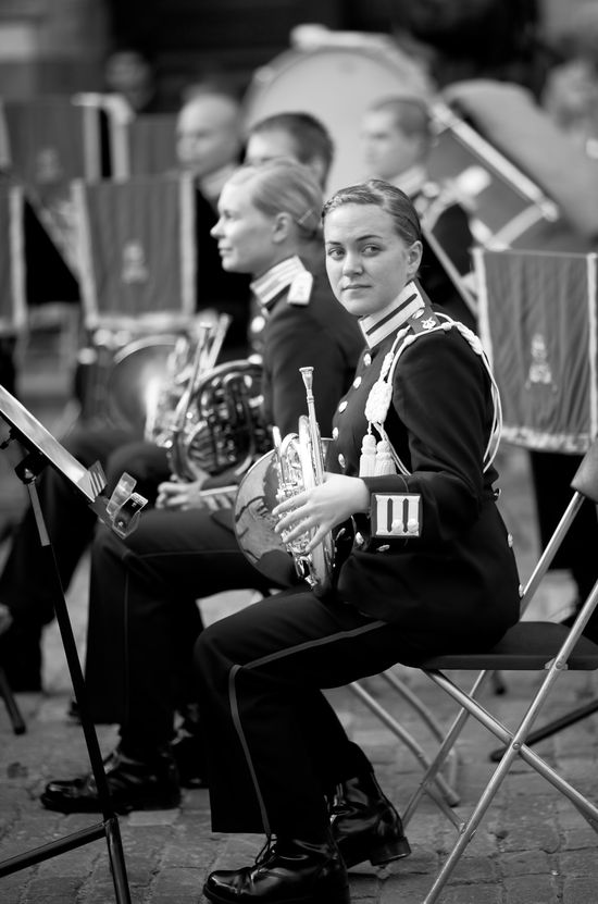 Stockholm- Member of the Swedish Army Band