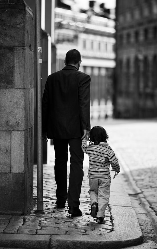 Stockholm- Dad and Little Boy