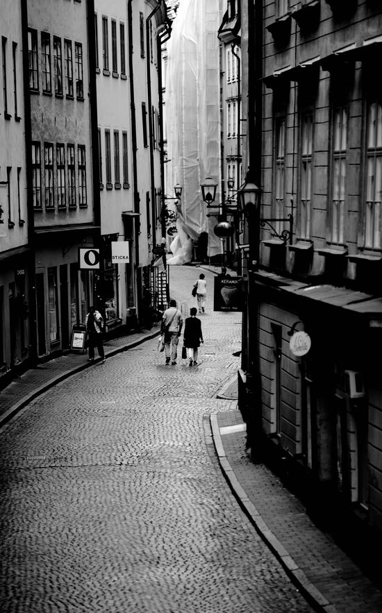 Stockholm- Old Town Street
