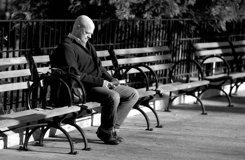 THE PHOTODIARIST- BENCHED