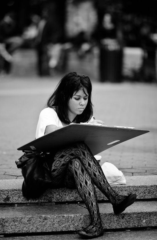 The Photodiarist- The Artist