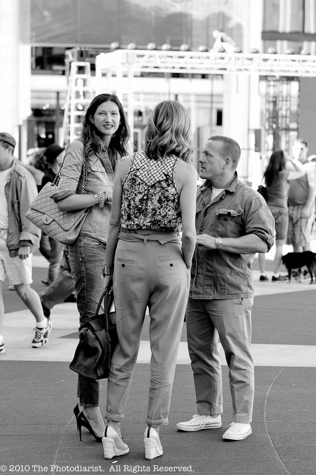 NYFW-THE SARTORIALIST AND THE LADIES