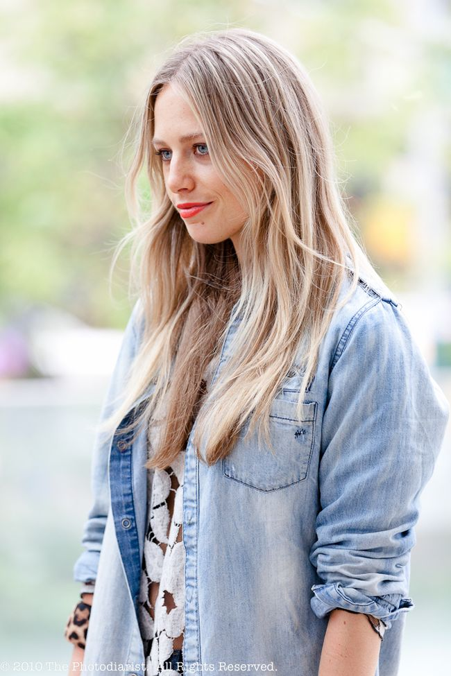 NYFW- THE OLD DENIM SHIRT