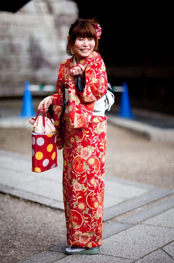 KYOTO- KIMONO GIRL