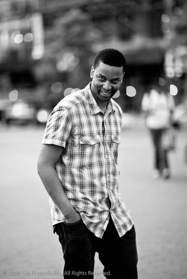 STREET PORTRAITURE- THE WICKED SMILE
