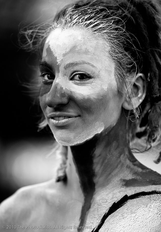 LIFE IS ART- THE HUMAN CANVAS (B&W) I