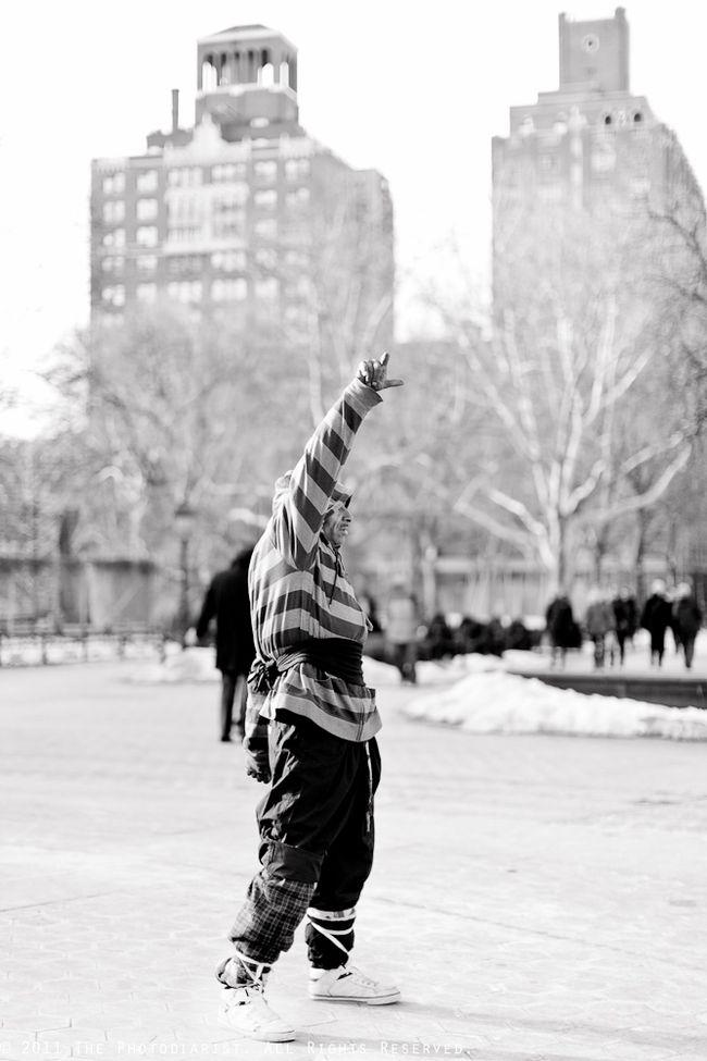 DANCING MAN VIII