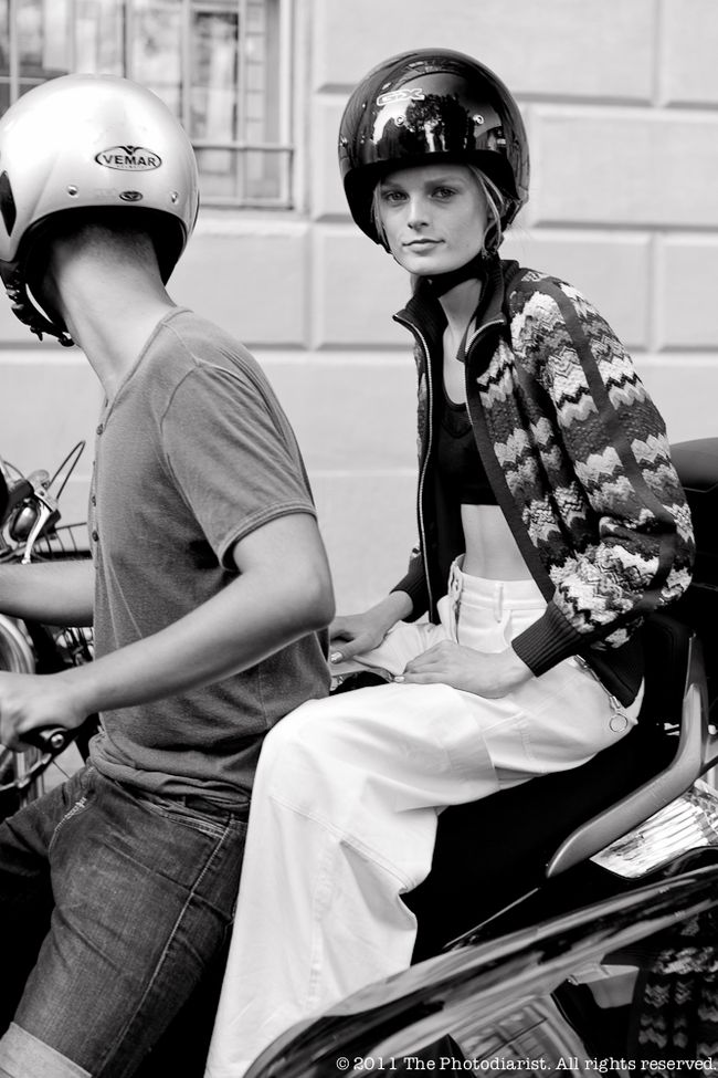 AFTER THE MISSONI SHOW- HANNE GABY ODIELE