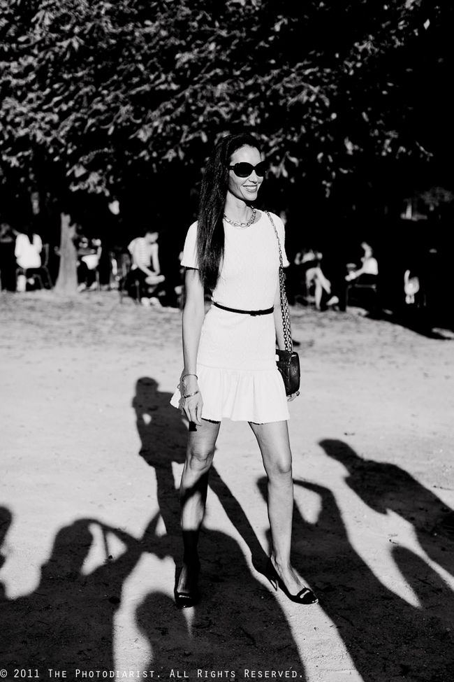 BEFORE THE LANVIN SHOW-  CAPTURED