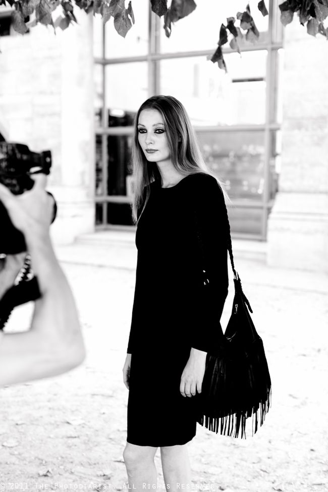 AT PARIS FASHION WEEK- CAPTURED
