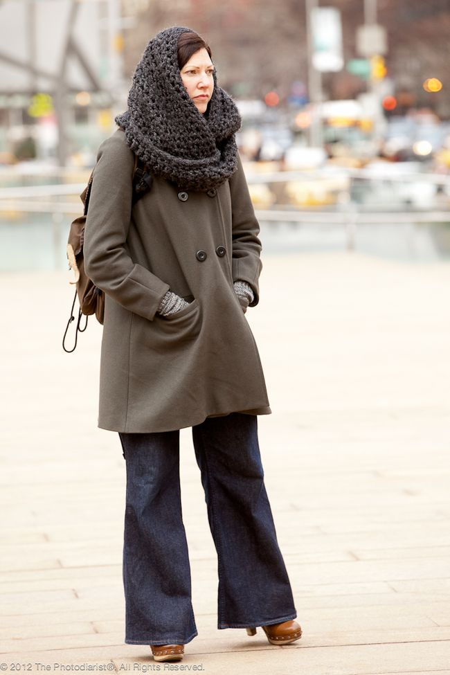 AT NEW YORK FASHION WEEK- BUNDLED UP II