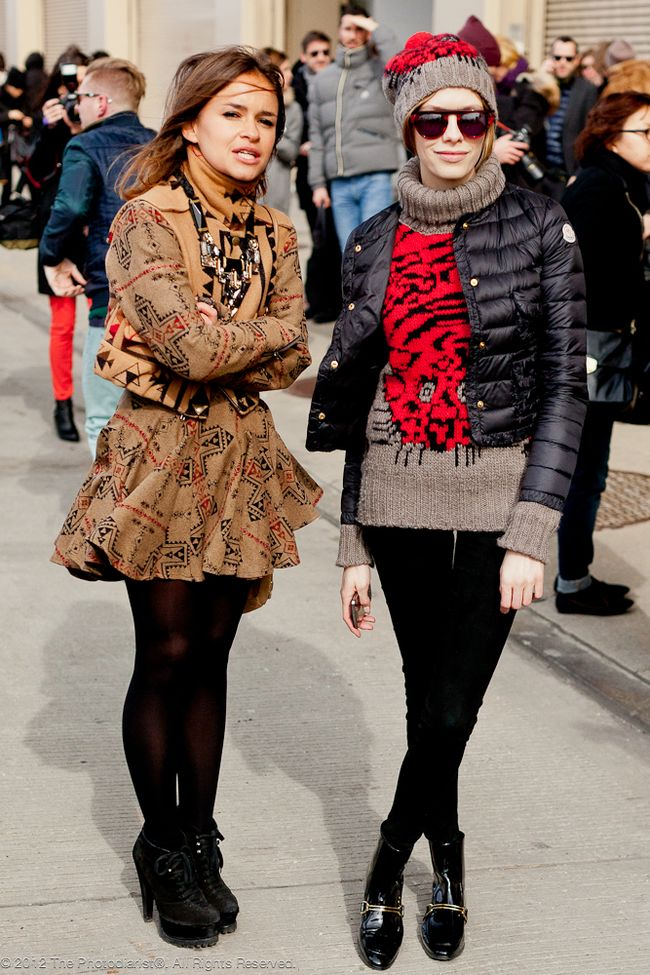 AT NEW YORK FASHION WEEK- MIROSLAVA DUMA
