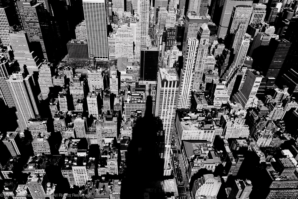 FROM EMPIRE STATE BUILDING- CASTING A SHADOW