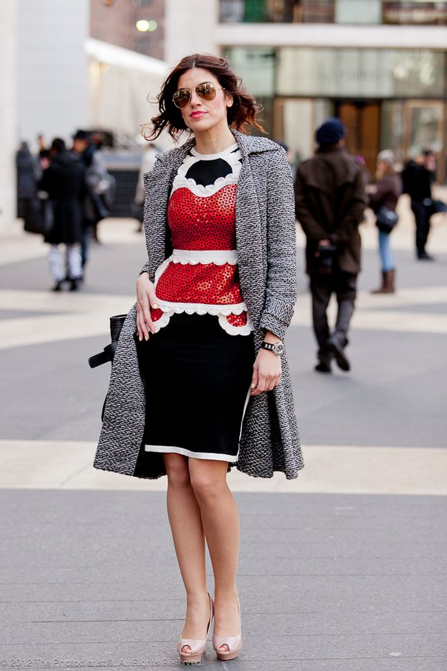 AT NEW YORK FASHION WEEK- ELEGANT FRENCH MAID II