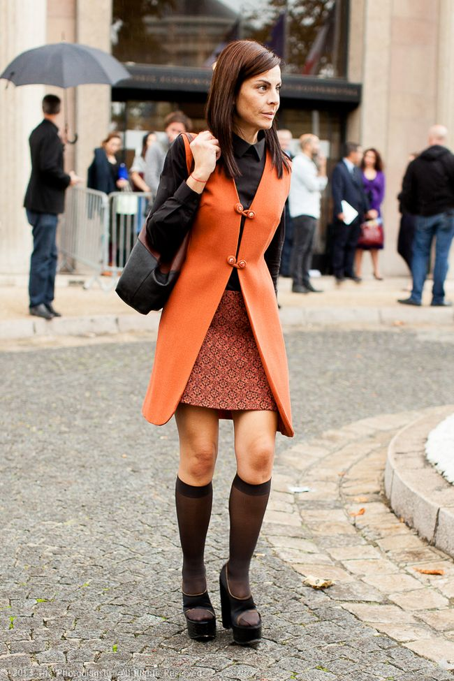 AT PARIS FASHION WEEK- VESTED
