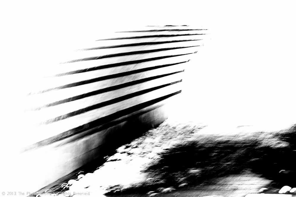 CENTRAL PARK- ABSTRACT TUNNEL III
