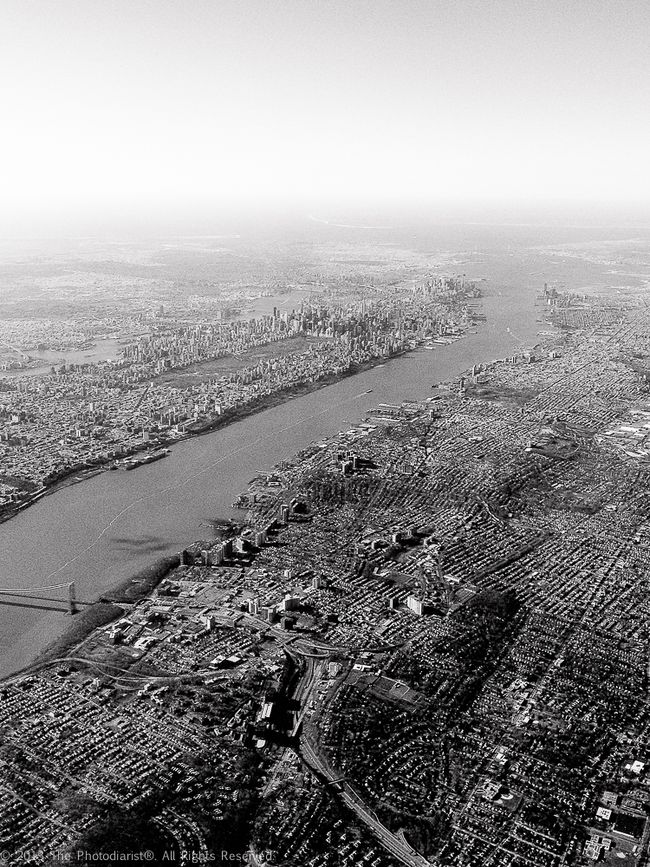NYC FROM THE AIR I