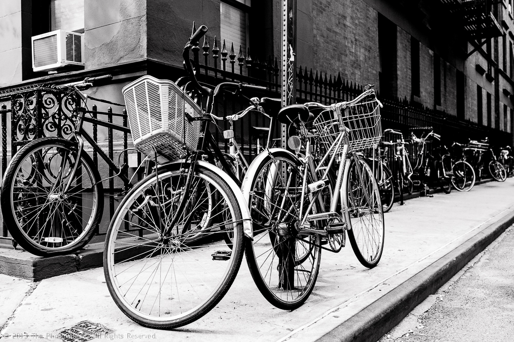 IN WEST VILLAGE- BIKES